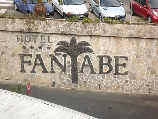 Fanabe Costa Sur Hotel: front of hotel