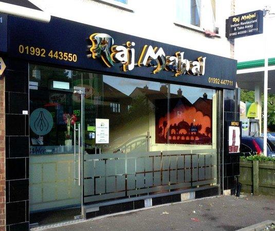 Raj Mahal Hoddesdon 38 Ware Rd Restaurant Reviews