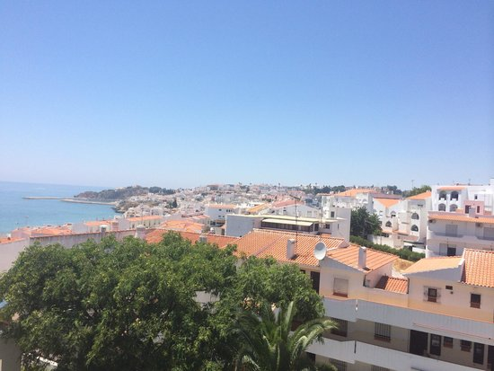 Hotel Almar: View from our balcony (room 410)