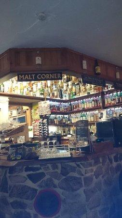 Exmoor White Horse Inn: Wisky wonder