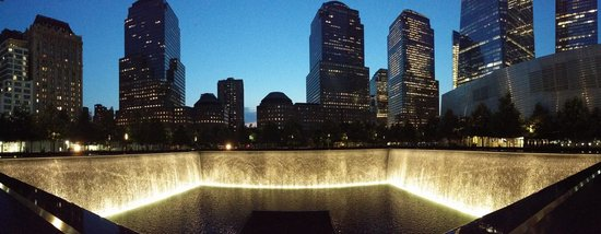 Memorial del 11S: Rememberance pools