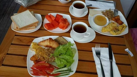 Best Western Kuta Beach: Breakfast