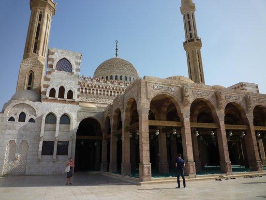 Al Mustafa Mosque: the side