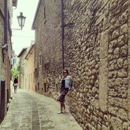 Rimini centro : San Marino