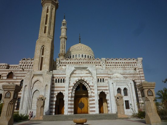Al Mustafa Mosque: back