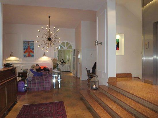 Hotel Trieste: hall