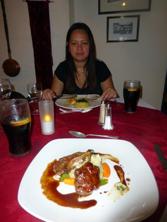 The West Arms Hotel: Great food