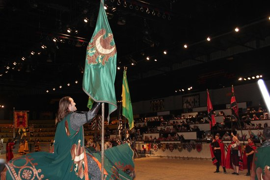 Medieval Times: Hooray for the Green!!!