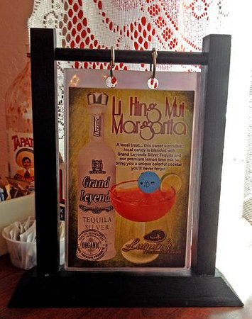 Luquin's Mexican Restaurant: $10 Li hing mui margarita