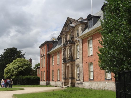 Dunham Massey Hall & Gardens: front of house