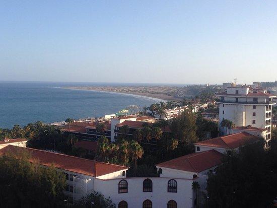 Corona Roja - Playa del Ingles: View from my balcony 1207.