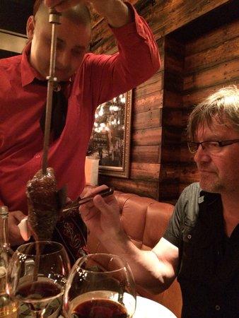 Fazenda Rodizio Bar and Grill : Perfekt og hyggelig service !
