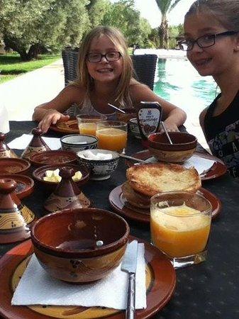 Dar Zarraba : petit dejeuner delicieux