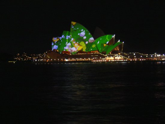 Opera Australia: May 2009, Brian Eno lights up Sydney's Opera House