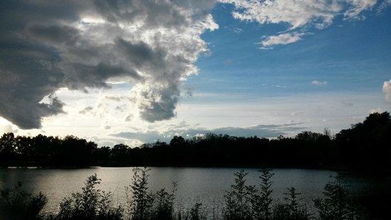 Mionnay, Frankrike: étang du chateau