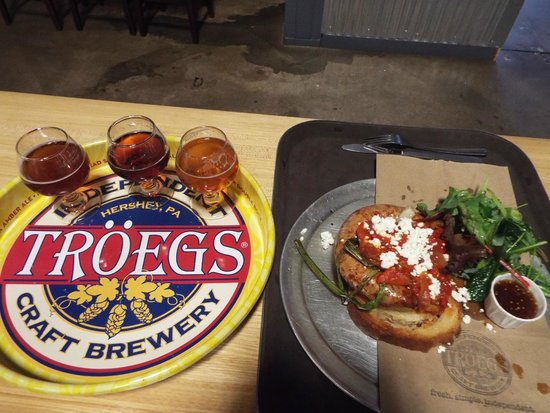 Troegs Brewing Company: great beer and cut-above pub fare