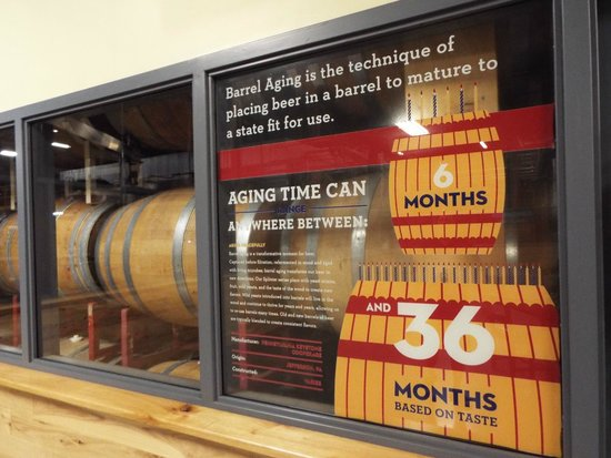 Troegs Brewing Company: part of the self-guided brewery tour