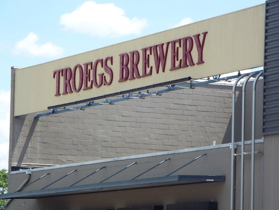 Troegs Brewing Company: This new Troeges facility is a lot different than the old, musty Harrisburgh brewerry.