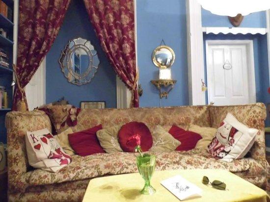 La Rosa Hotel & Campsite: The living room