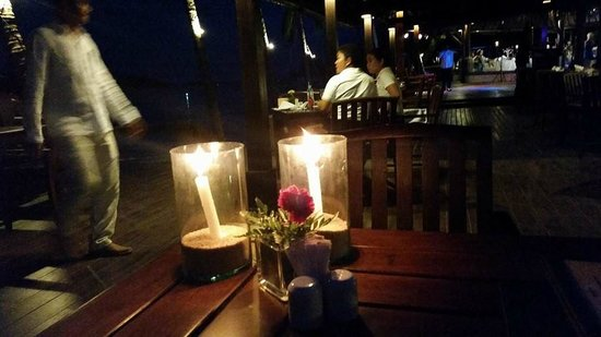 Nora Beach Resort and Spa : dinner at nora beach with lovely live music too