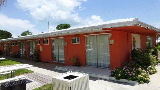 Sea Dell Motel: Unser Zimmer (rechts)
