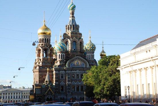 Park Inn by Radisson Pribaltiyskaya St Petersburg: chiesa di cristo re