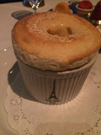 Grand Marnier Souffle Picture Of Eiffel Tower Restaurant