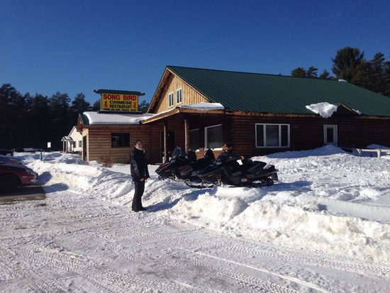 Songbird Chinese Restaurant : Snowmobile access to song bird