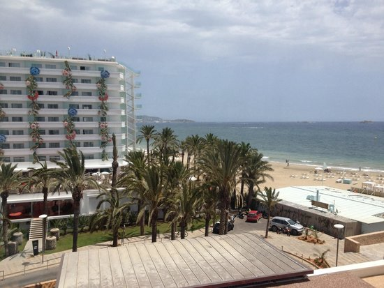 Hard Rock Hotel Ibiza: View from our room