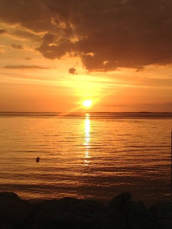 Sunset off Azul Del Mar, Key Largo Property...