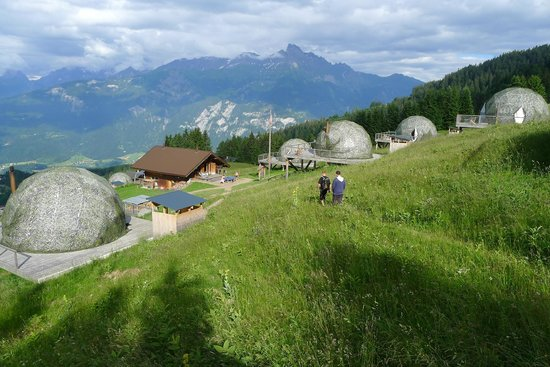 Monthey, Switzerland: whitepod ground
