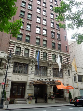 The Iroquois New York: entrance
