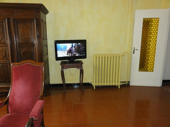 Hotel du Forum : Vista interna do quarto 55 GL