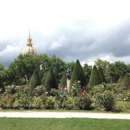 Musée Rodin : View of les invalides