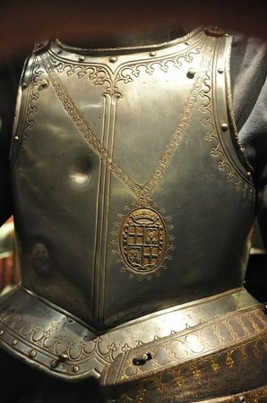 Grandmaster's Palace : Armour after testing (shot-proof armour)