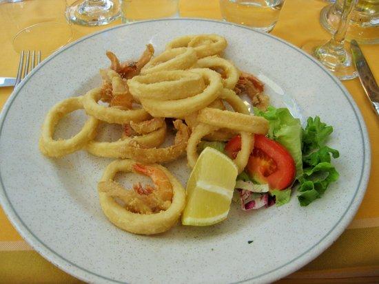 Ristorante Pizzeria Mamma Mia : fried seafood