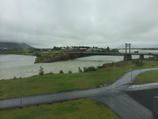 Hotel Selfoss : View from room (on a cloudy day)