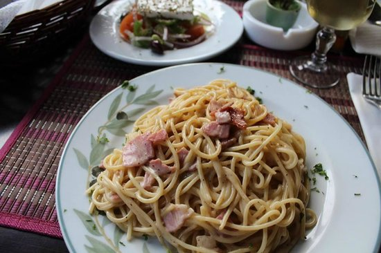 Smile Cafe Restaurant: Carbonara