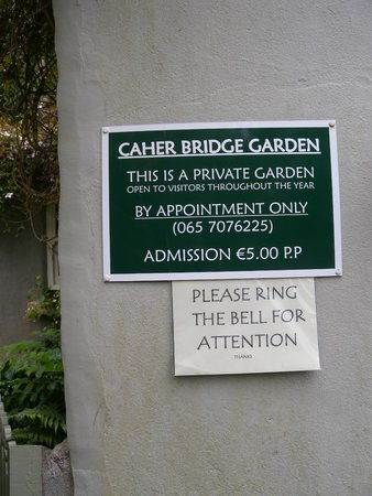 Caher Bridge Garden