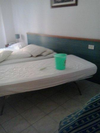 Athena Hotel: il secchio sul letto