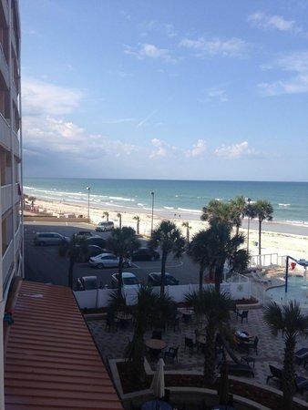 Holiday Inn Resort Daytona Beach Oceanfront: great view