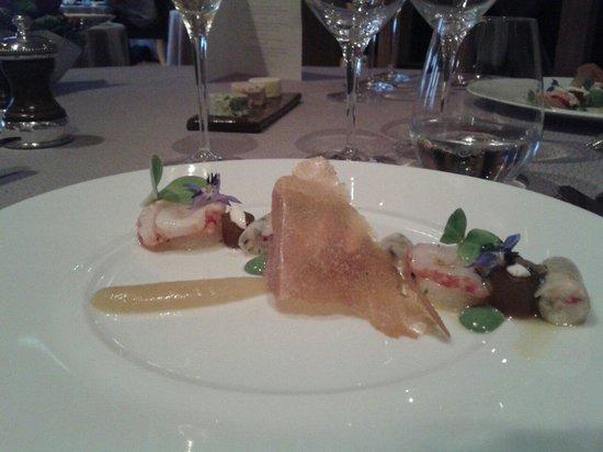 Maison Jeunet : Le homard bleu de Bretagne,  pousses d'herbes