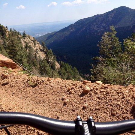 Pikes Peak Mountain Bike Tours: The view