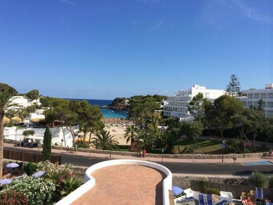 Gavimar Cala Gran Costa del Sur Hotel & Resort: Sea view from the 4th floor room