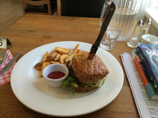 Restaurant Lindin Bistro Cafe: Reindeer burger