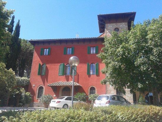 Il Patriarca: La facciata dell'hotel