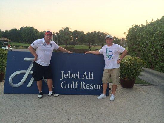 JA Jebel Ali Beach Hotel: Jebel Ali golf and country club