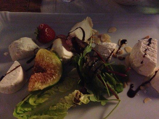 Hermitage Hotel and Restaurant : Formaggi di capra misti