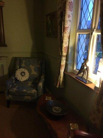 Wensleydale Farmhouse Bed & Breakfast: The snug