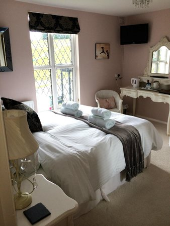 "Wensleydale Farmhouse Bed & Breakfast: The ""Taylor"" bedroom"